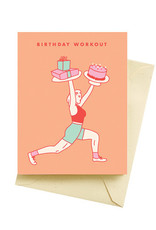 Card - Birthday: Workout
