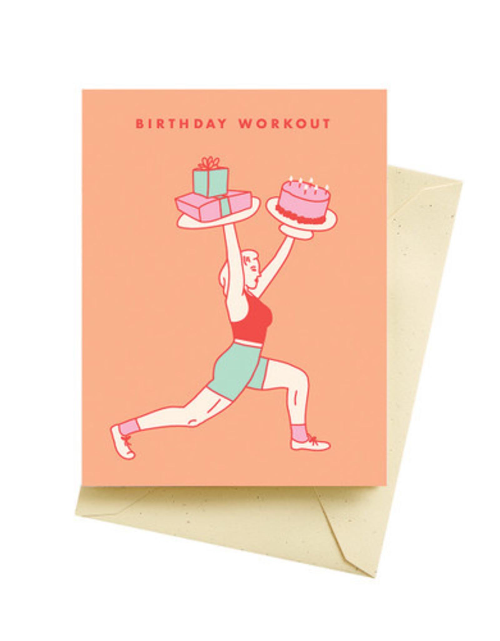 Seltzer Goods Card - Birthday: Workout