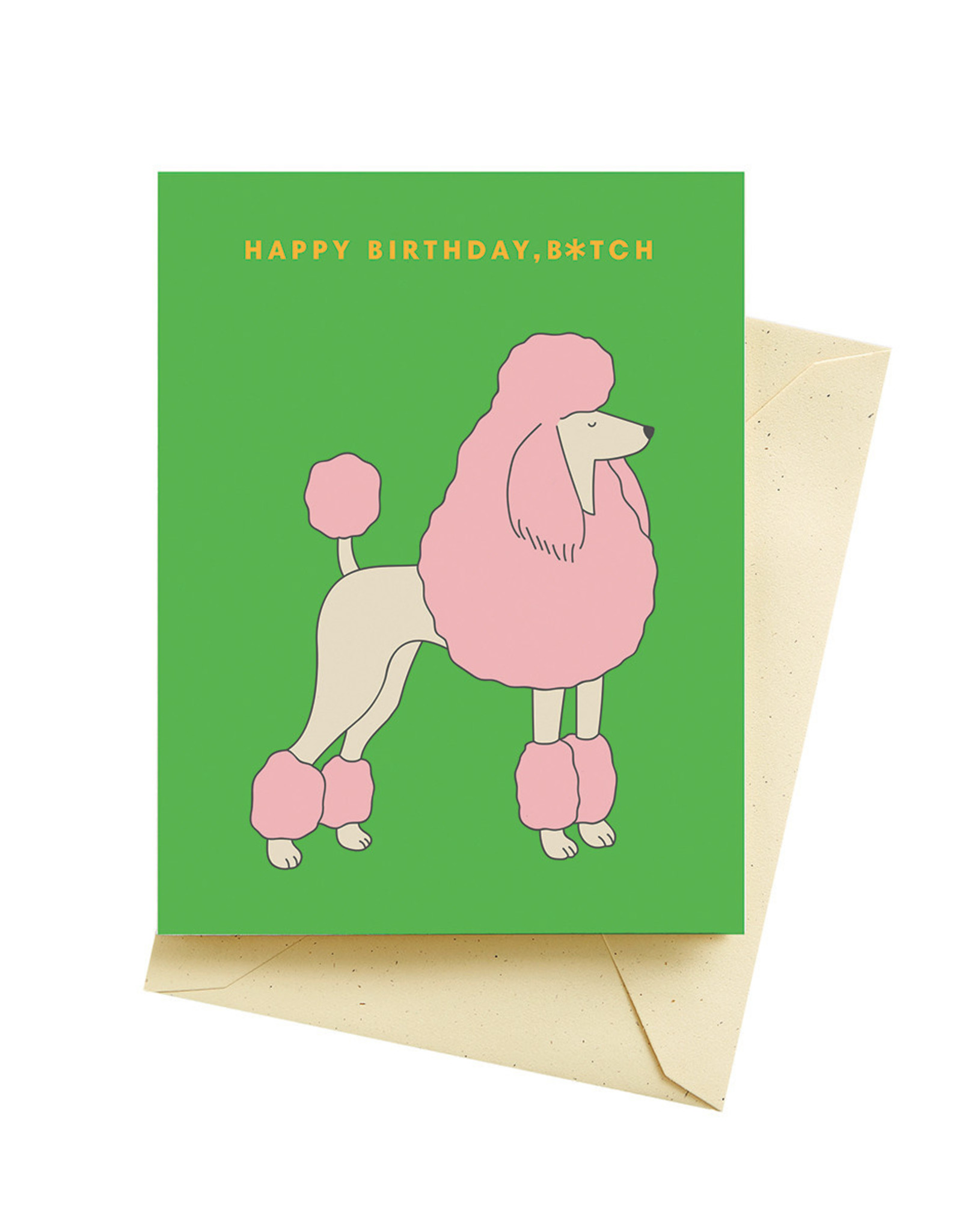 Seltzer Goods Card - Birthday: French Poodle