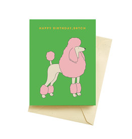 Card - Birthday: French Poodle