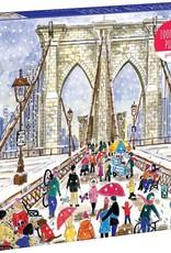 Chronicle Books Puzzle 1000 piece Michael Storrings Brooklyn Bridge