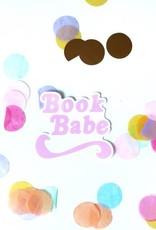 Pretty Peacock Paperie Sticker: Book Babe
