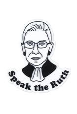 Seltzer Goods Magnet: Speak the Ruth