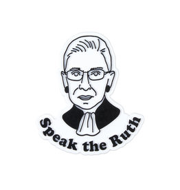 Seltzer Goods Magnet: Speak the Ruth