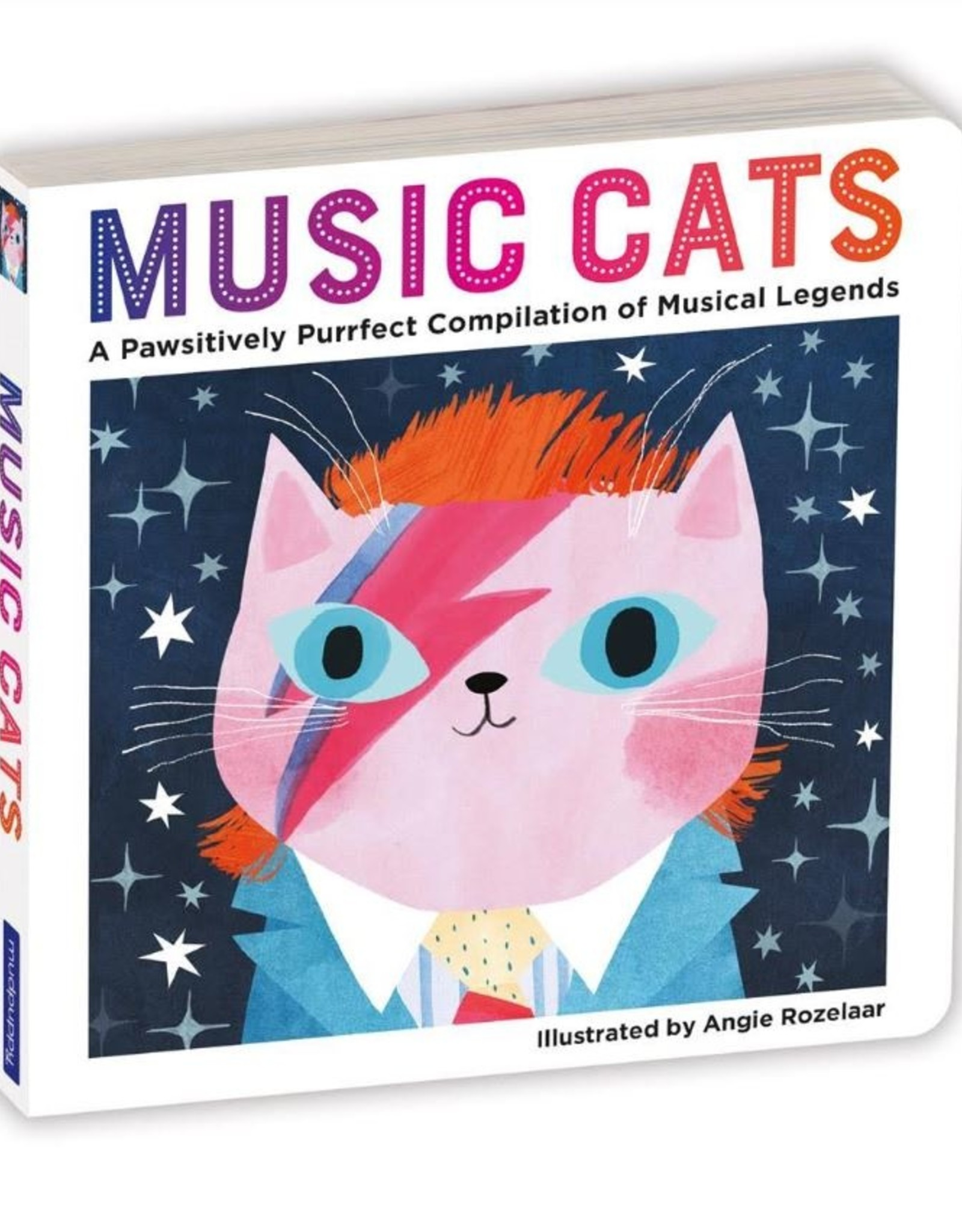 Chronicle Books Board Book: Music Cats