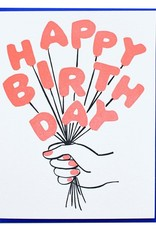 Card - Birthday: Bouquet