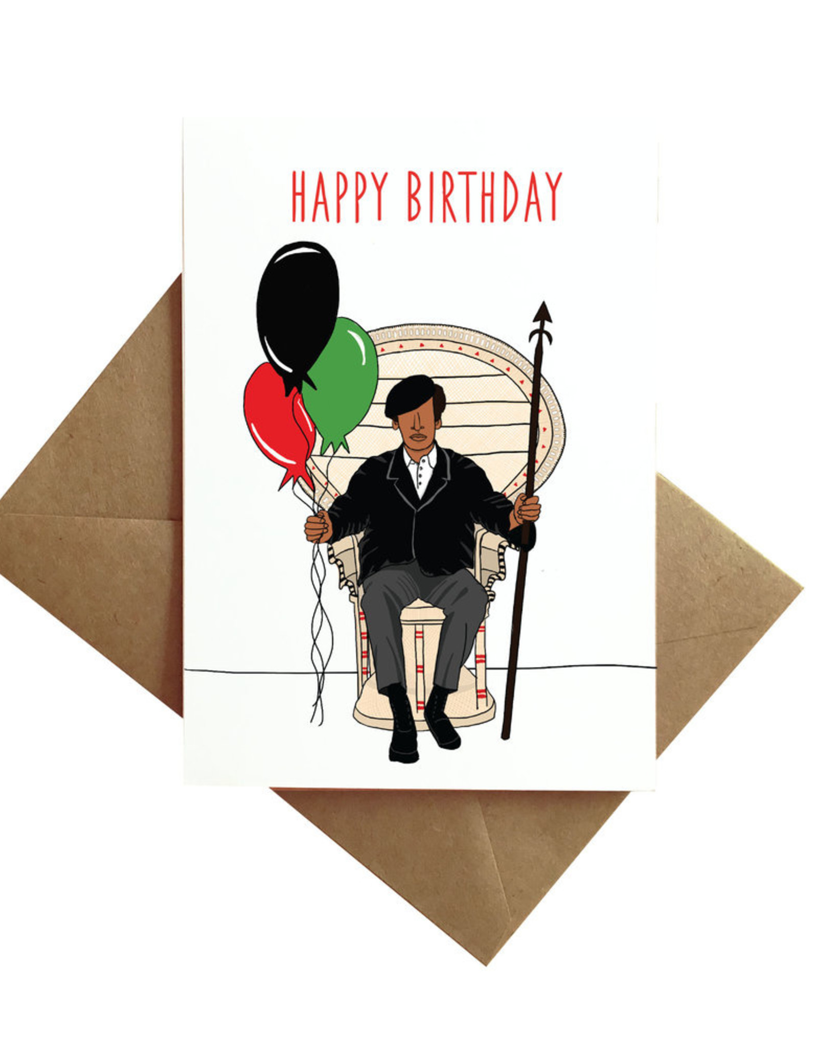 Card - Birthday: Panther