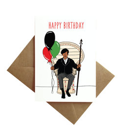 By Ms James Card - Birthday: Panther