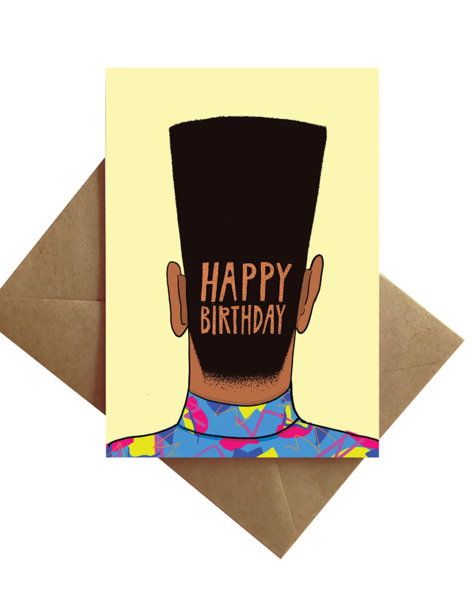 Card - Birthday: Flat top