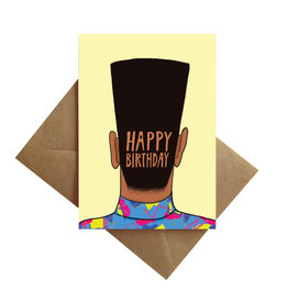Card - Birthday: Flat top
