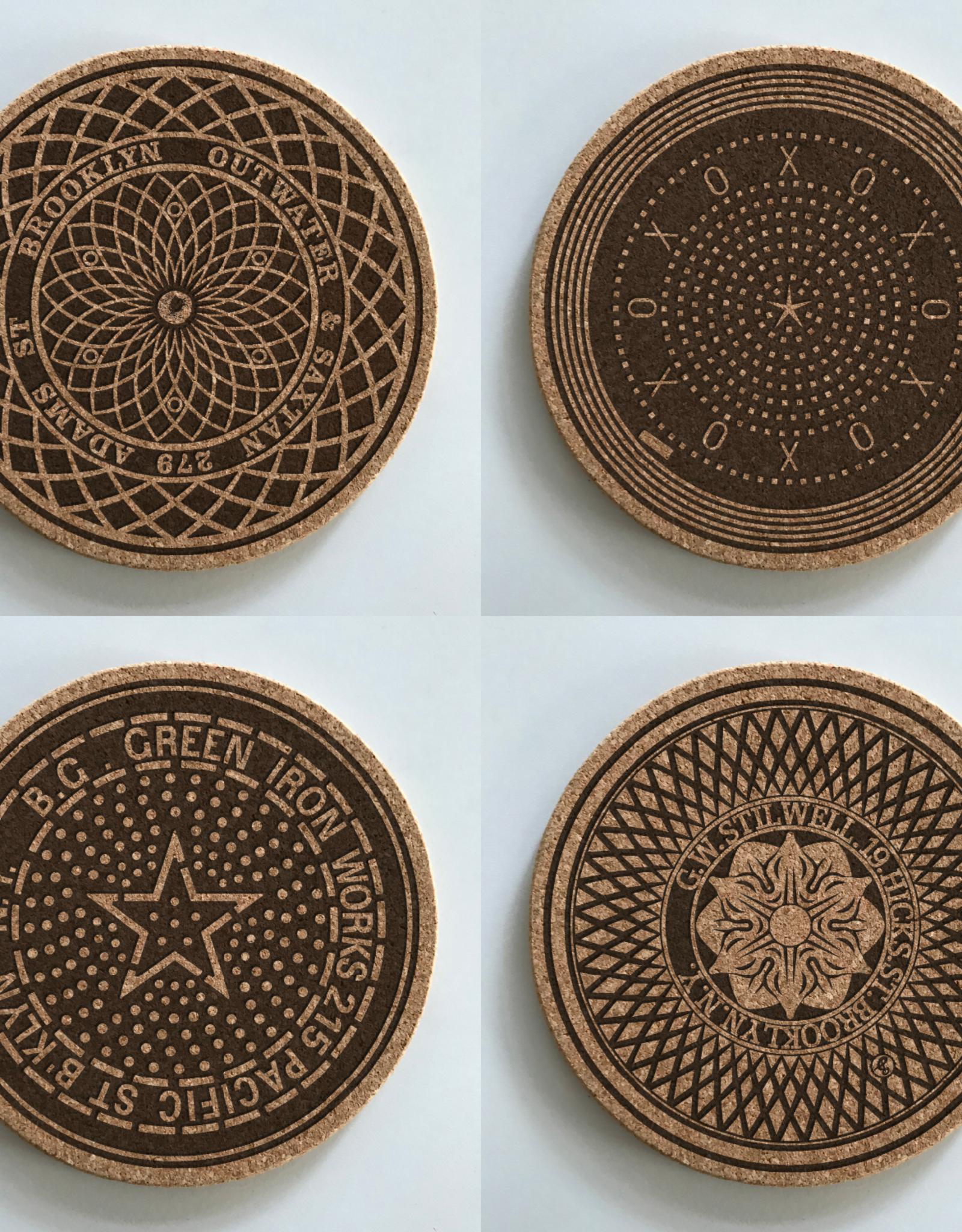Brooklyn Mahole Coasters