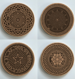 Brooklyn Mahole Coasters
