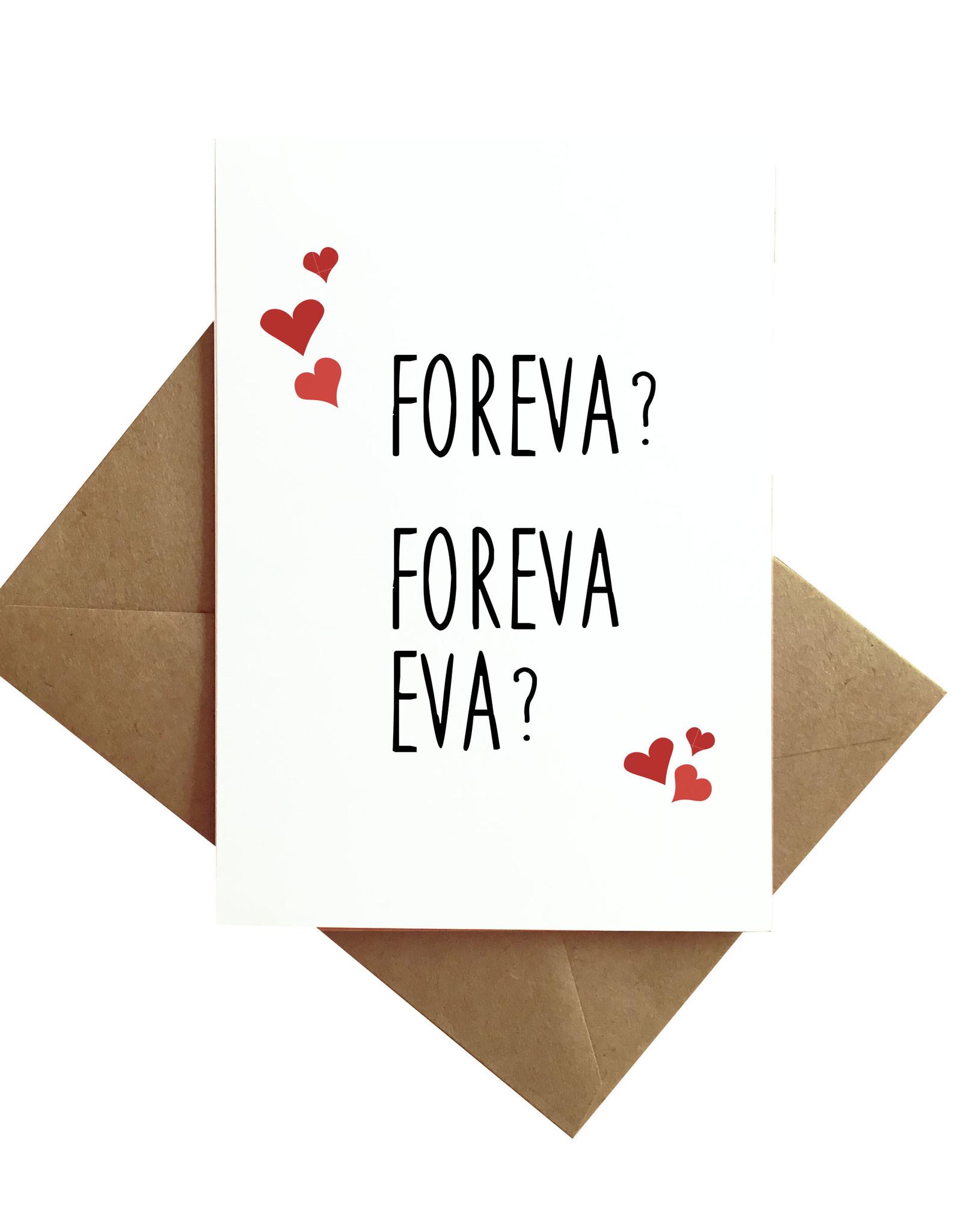 Card - Love: Foreva?