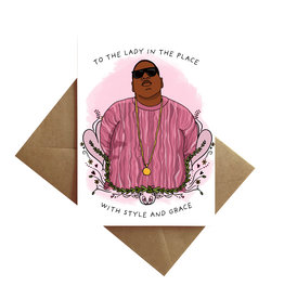 Card - Blank: Biggie