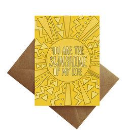 Card - Blank: Sunshine of my life