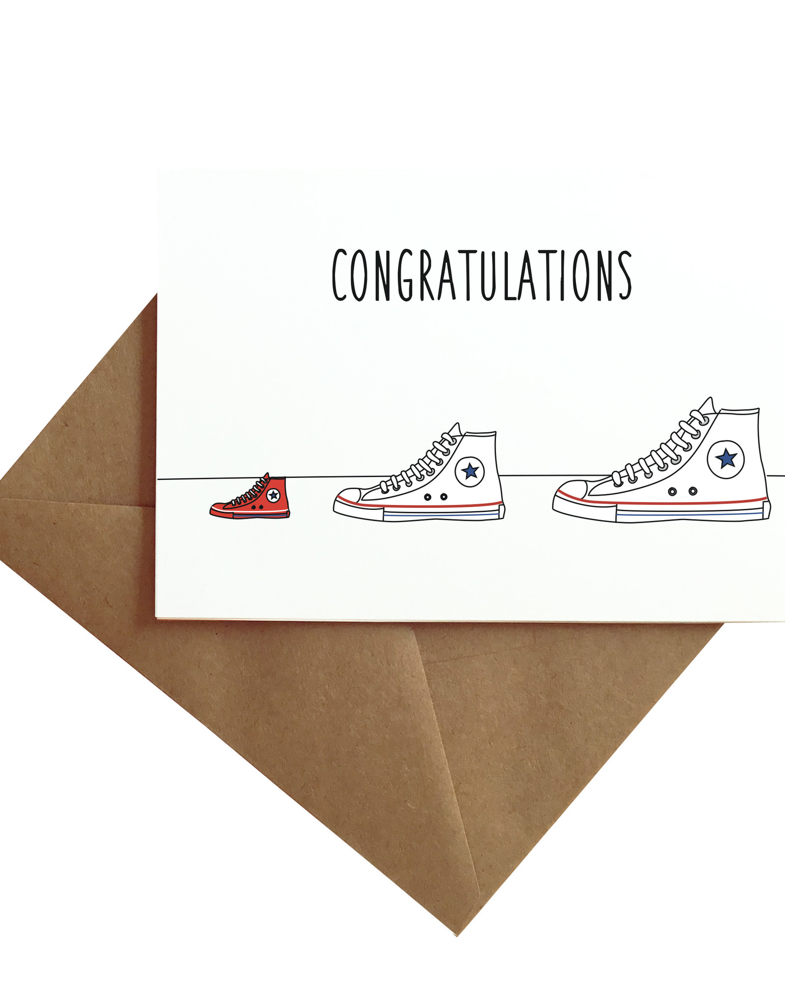 Card - Baby: Shoes