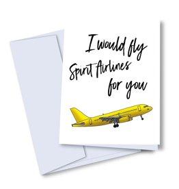 Card - Blank: Fly Spirit