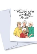 Card - Thank you: Golden Girls