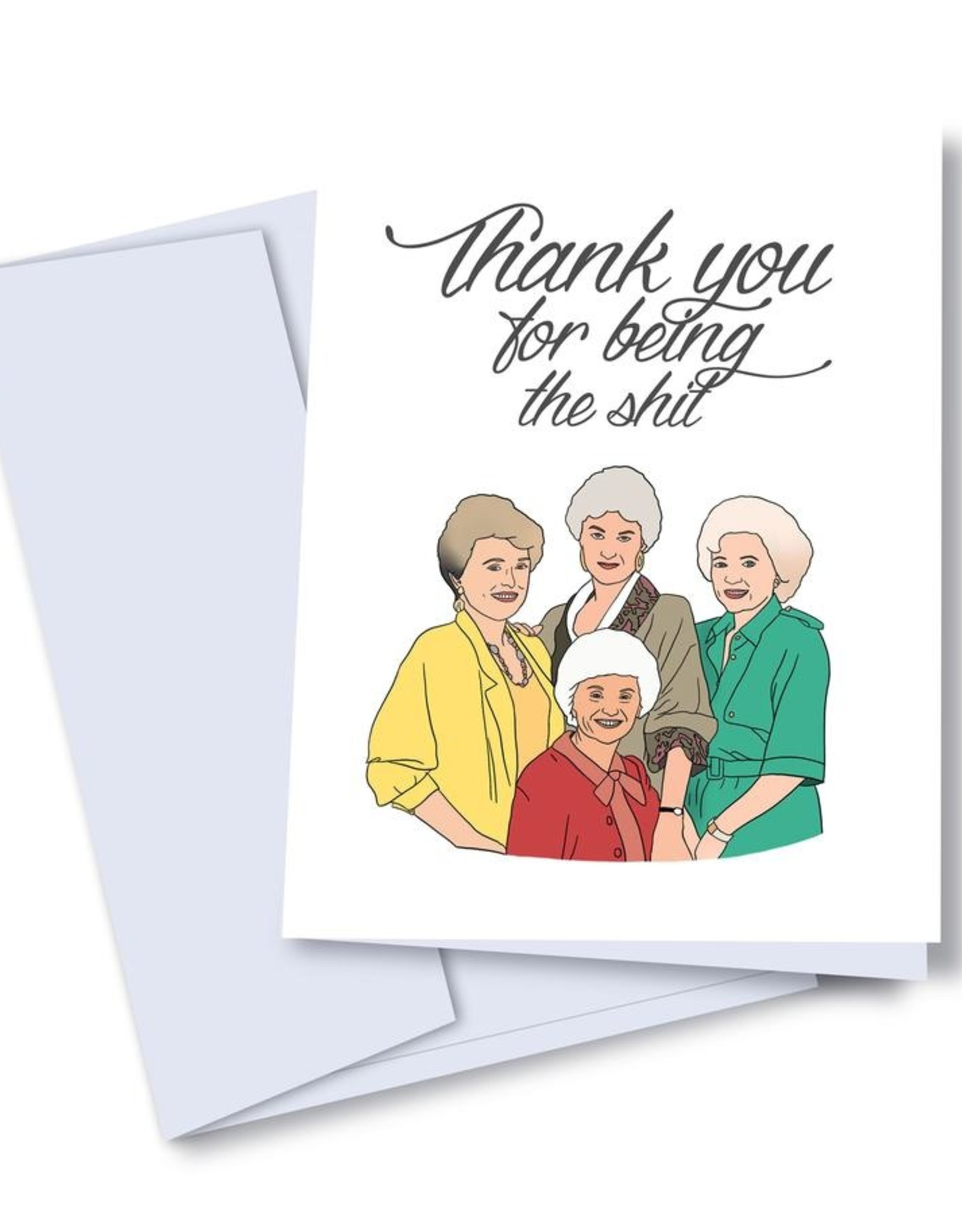 kaleidodope Card - Thank you: Golden Girls