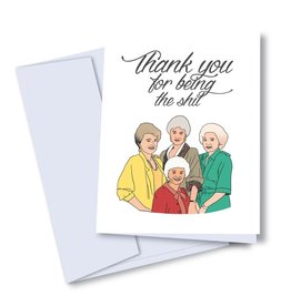 Card - Thank you: Golden Girls