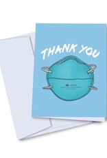 Card - Thank you: Mask