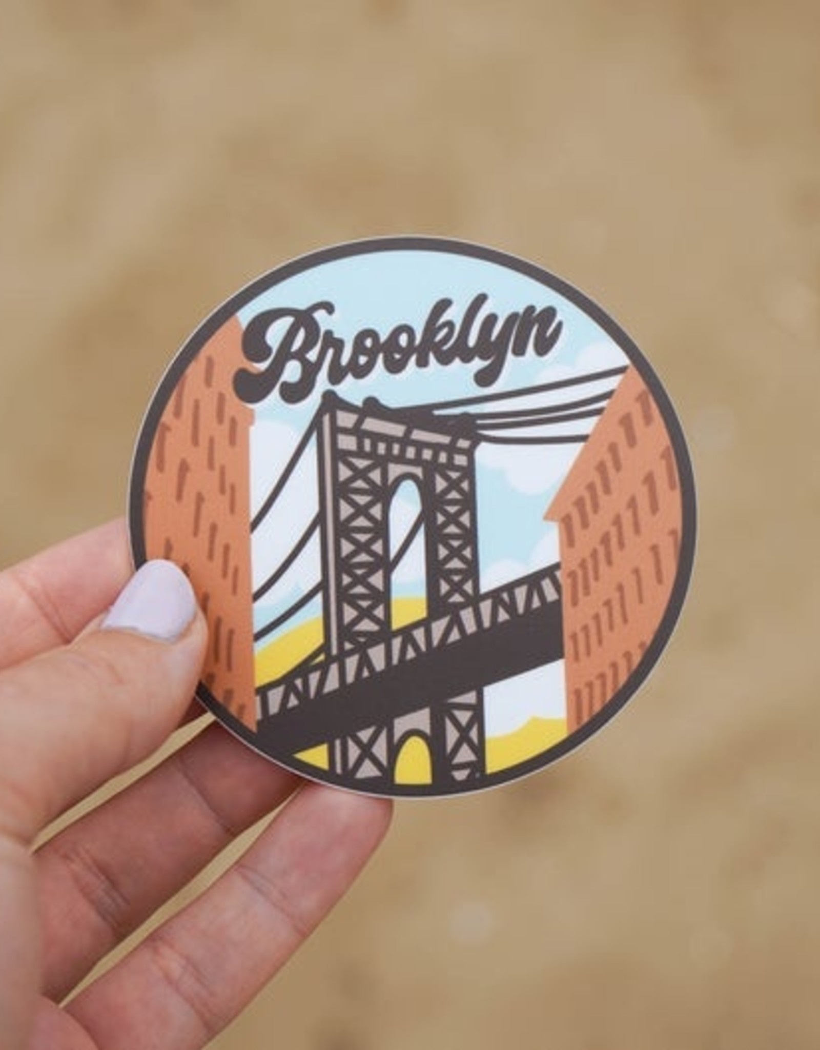 Sticker: Brooklyn Bridge