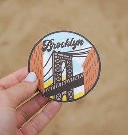 Sticker: Brooklyn Bridge