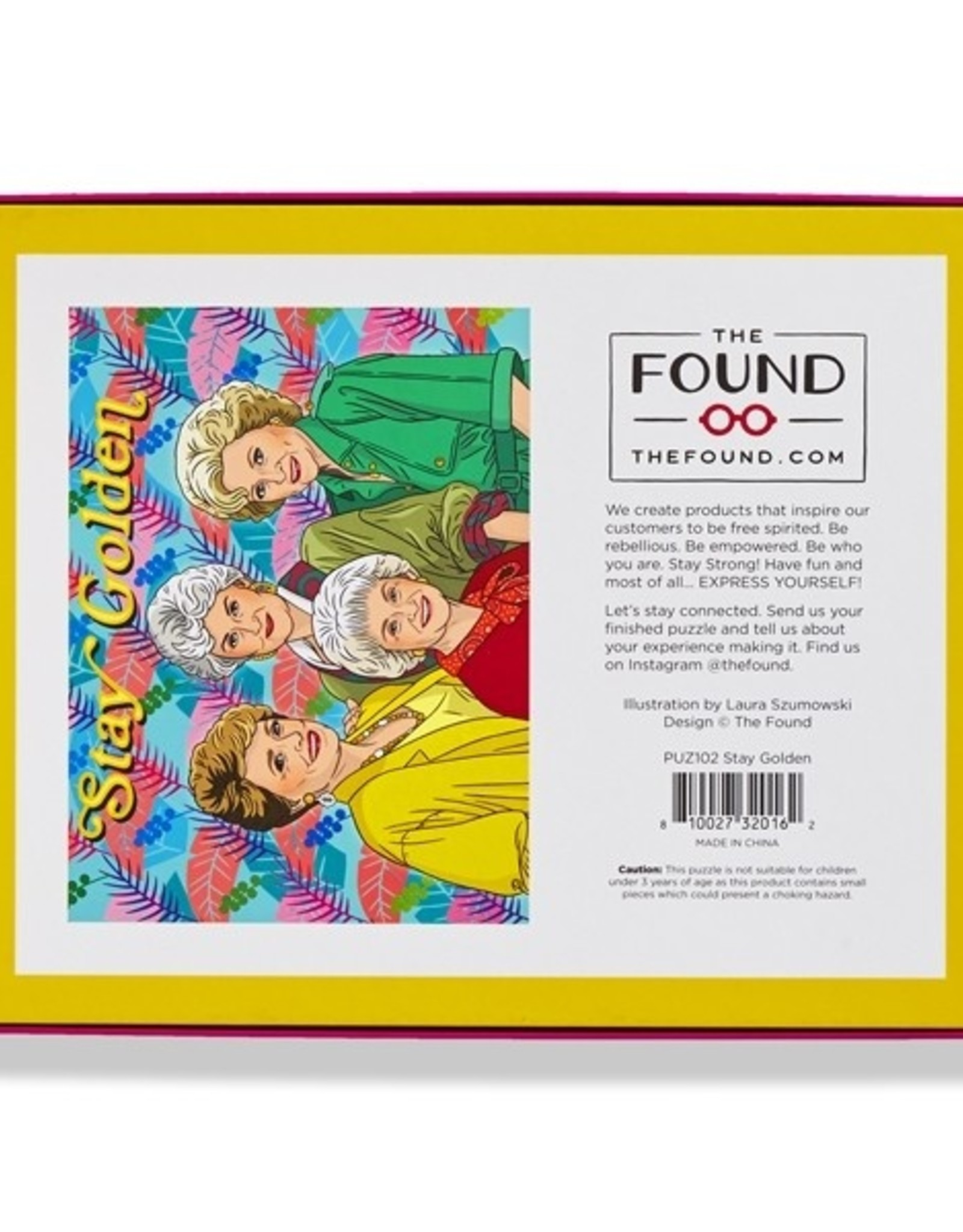 The Found Puzzle: 500 piece - Stay golden