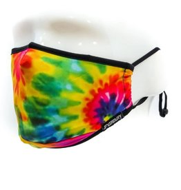 Kids Face Covering Mask: Tie Dye