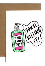 Brittany Paige Card: Blank - You're Killin' it