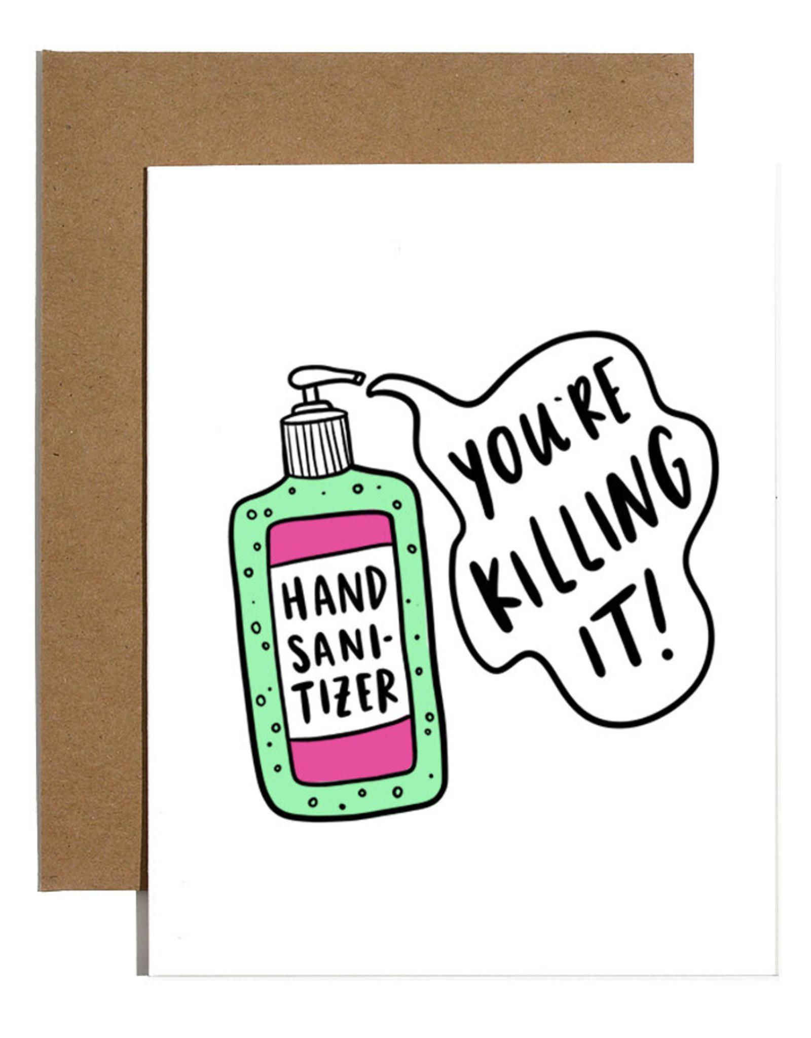 Card: Blank - You're Killin' it