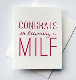 Steel Petal Press Card - Baby: MILF