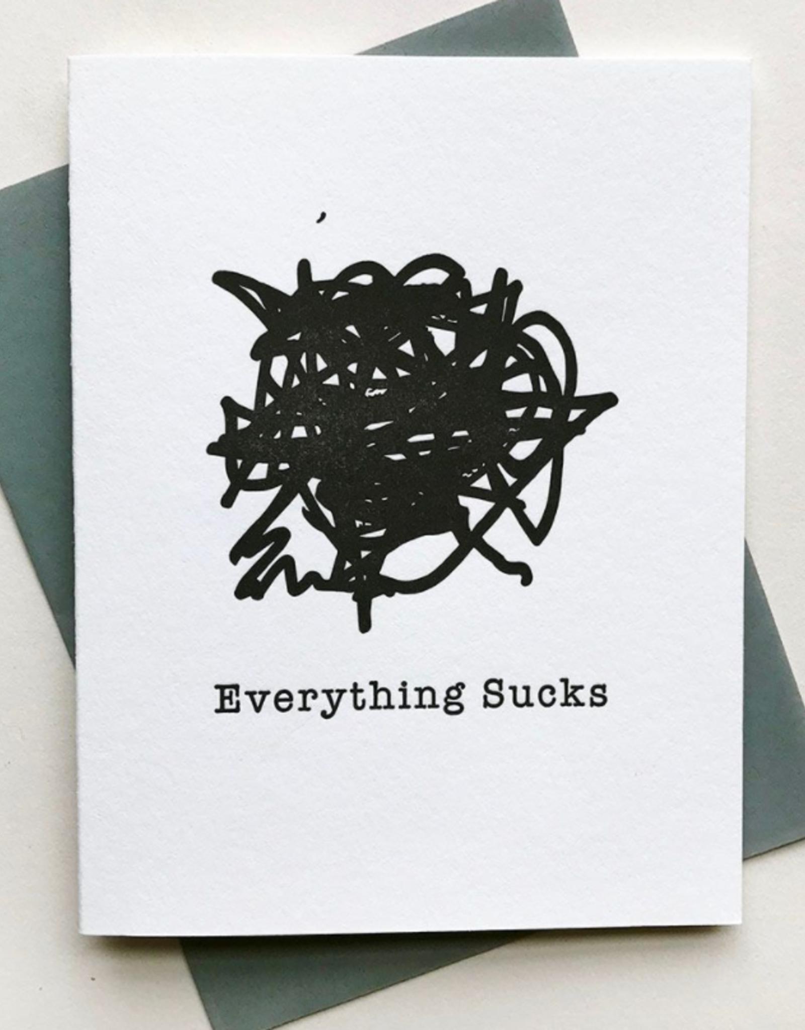 Card - Blank: Everything Sucks