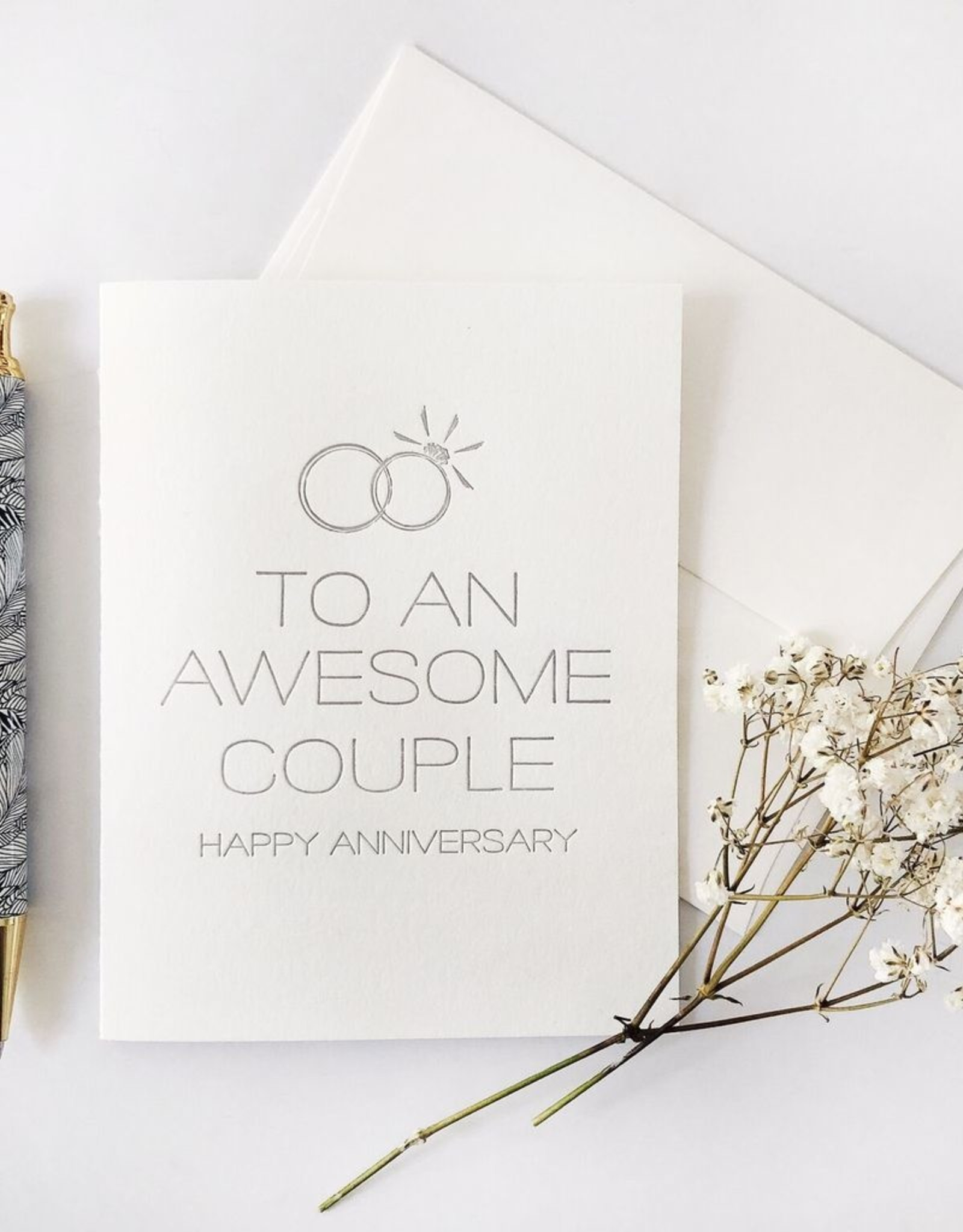 Card - Anniversary: Awesome Couple