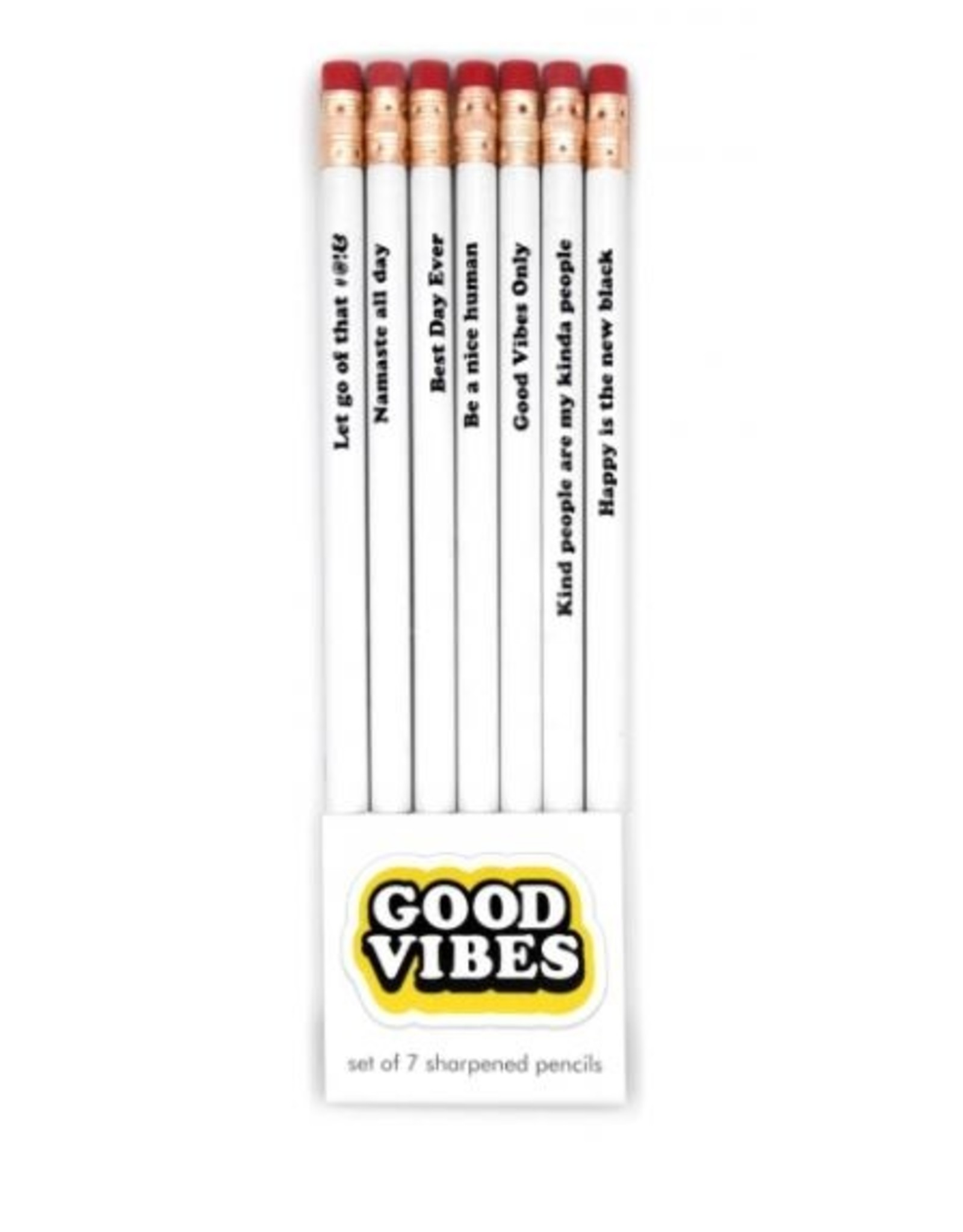 Pencil Pack: Good Vibes Only