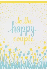 Smudge Ink Card - Wedding: To the happy couple