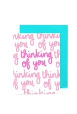 Card - Blank: Thinking of you