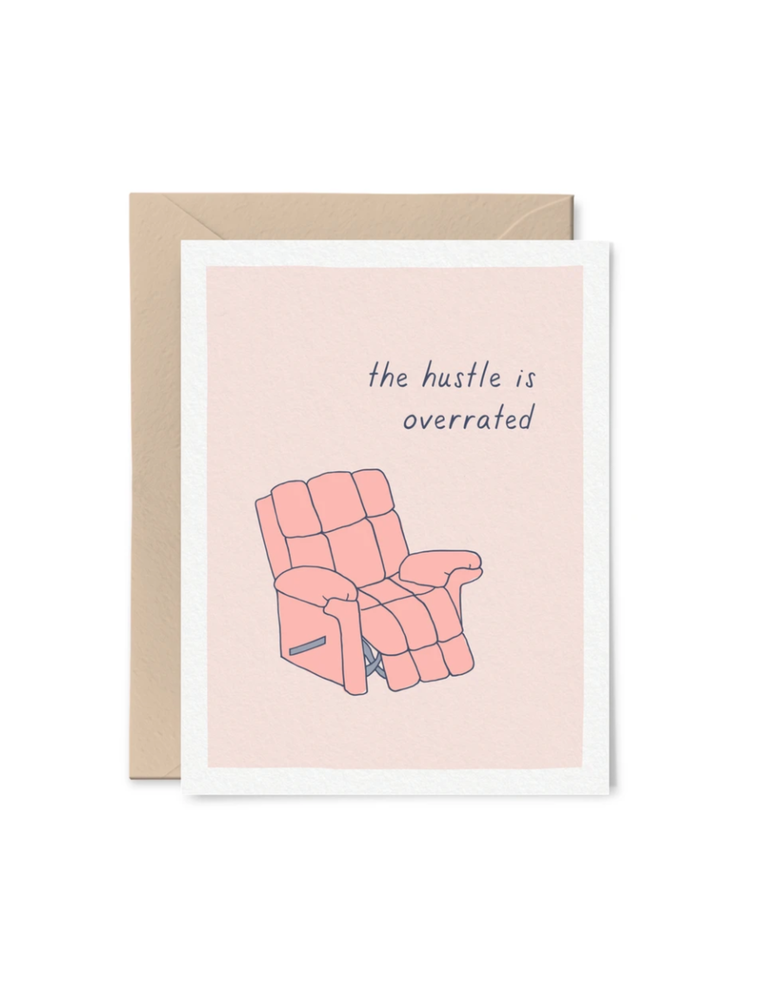 Little goat paper company Card - Blank: Hustle is Overrated
