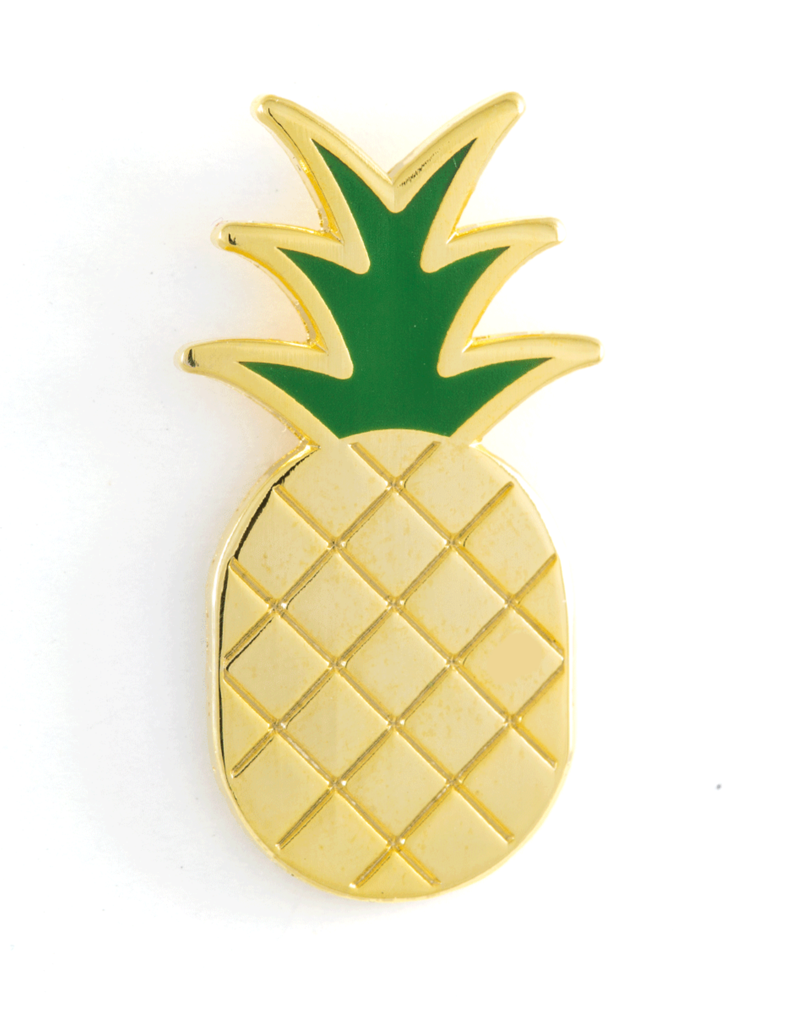 These Are Things Enamel Pin: Pineapple
