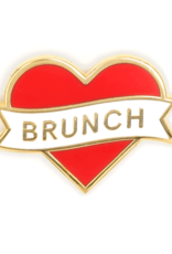 Enamel Pin: Brunch Heart