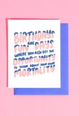 Card - Birthday: Fun Days