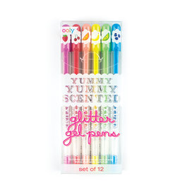 Ooly DBA International Arrivals Yummy Yummy Scented Glitter Gel Pens