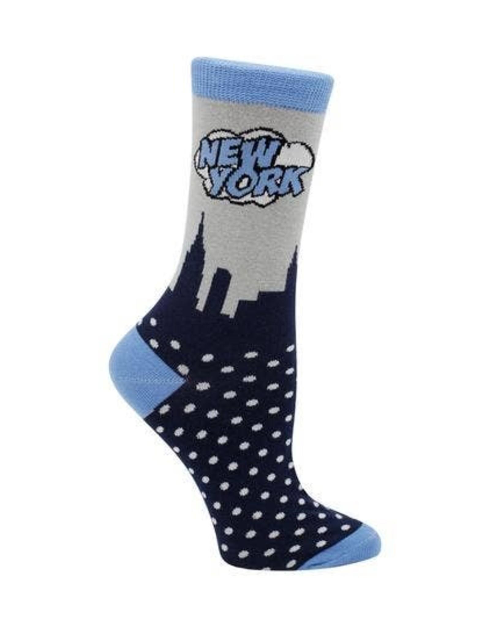 Socks: New York Skyline