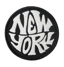 Patch: New York b&w round
