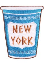 Patches and Pins Patch: New York Coffee Cup