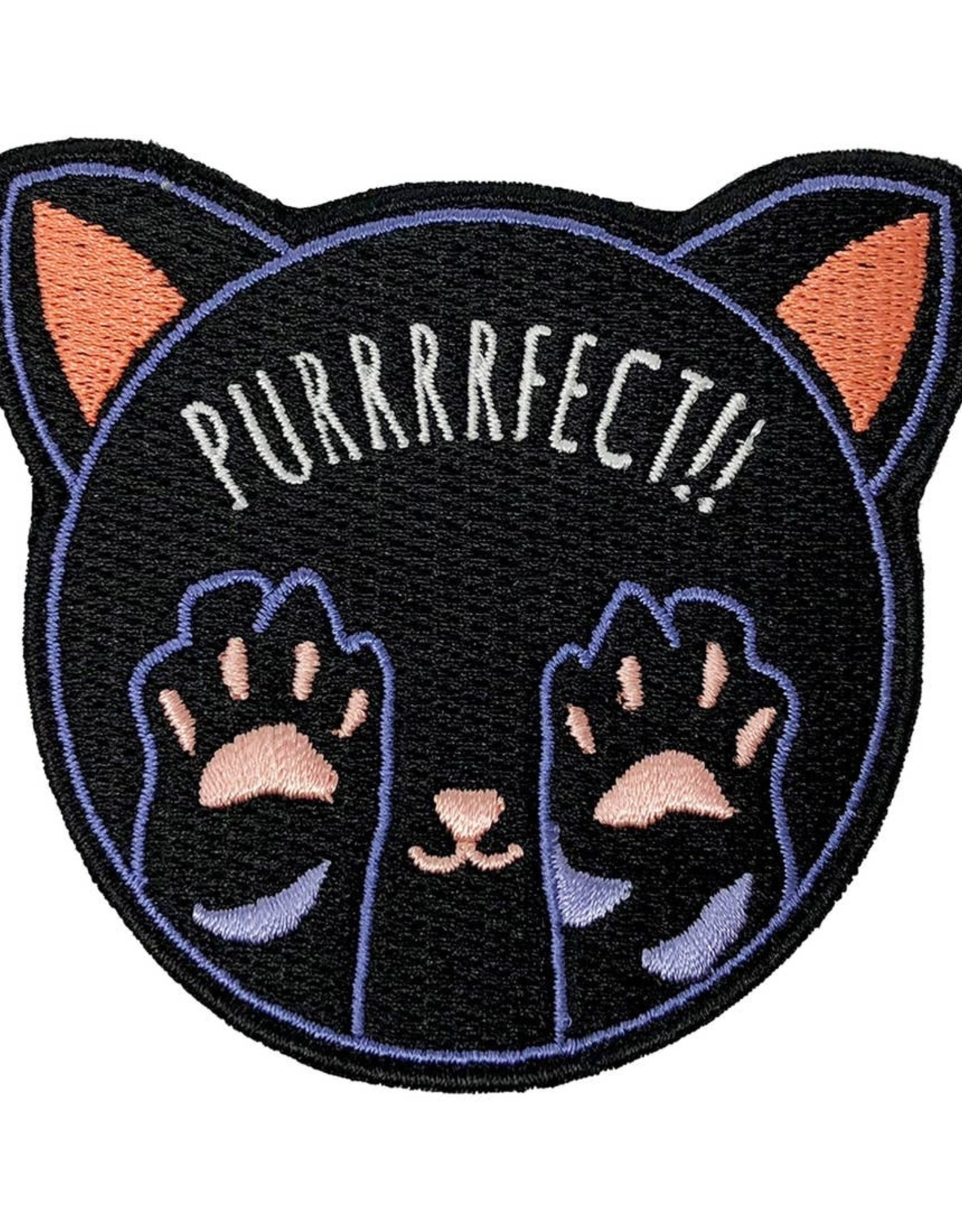 Patches and Pins Patch: Purrrrrfect!