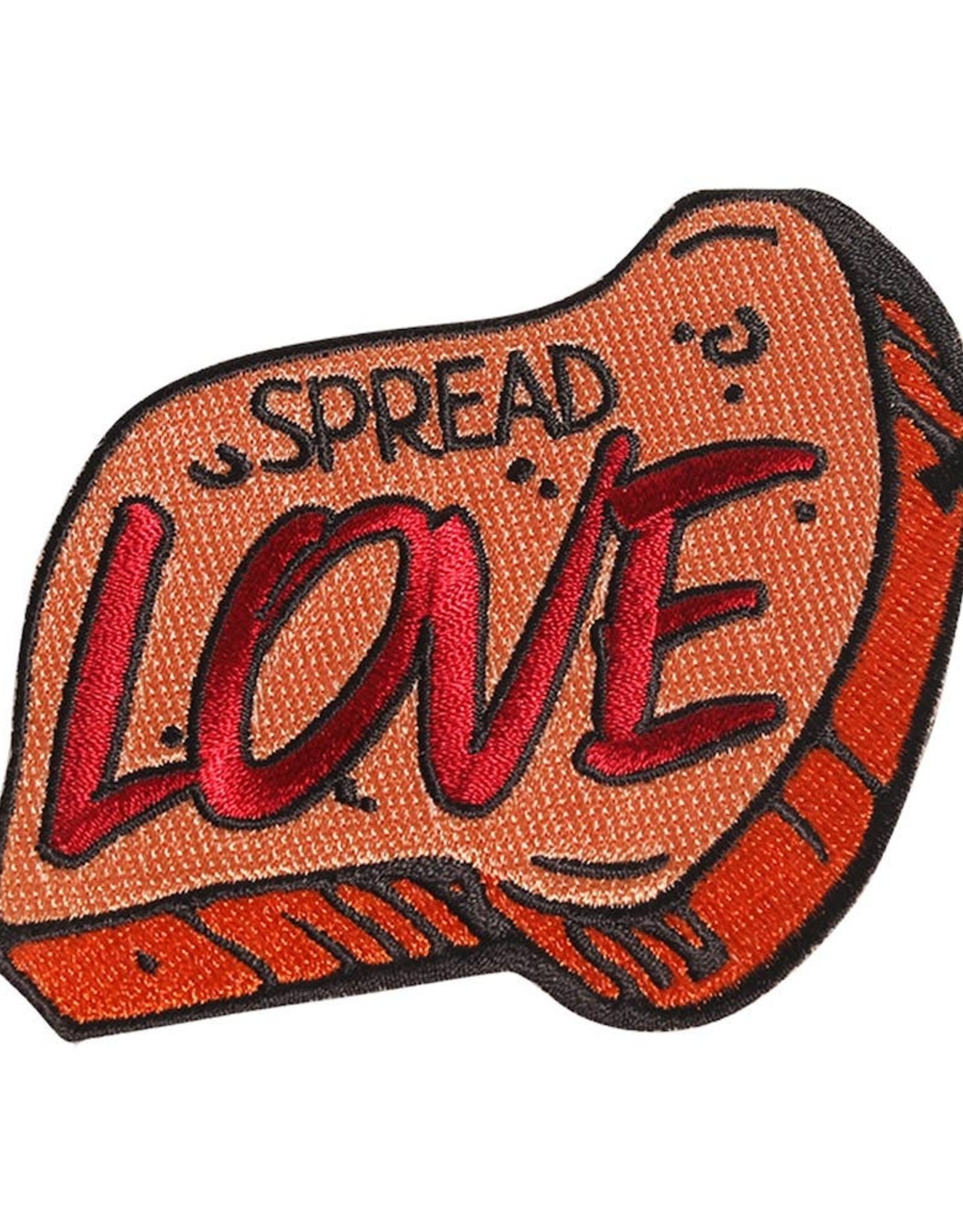 Patches and Pins Patch: Spread Love Toast