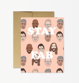 Card - Blank: Stay Fab