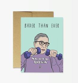 Card - Birthday: Bader than Ever