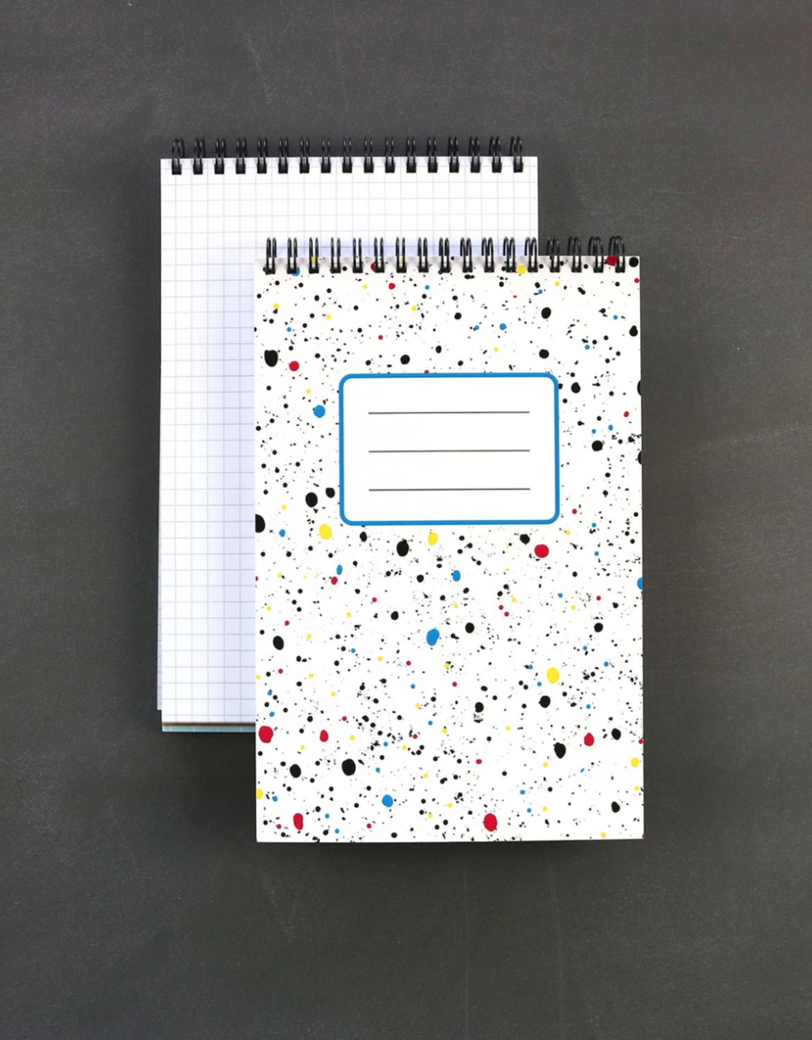 Spiral Notebook: Splatter